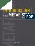 Introduccion a la Metafisica