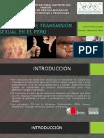 Infecciones DeTransmisión Sexual en El Perú FINAL