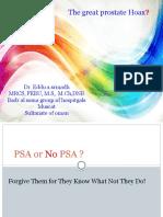 PSA Great Hoax