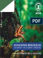 Estaciones Biológicas ACCA