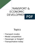 l5 Rail Transport Economics