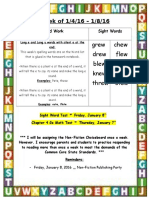 weekly newsletter 1-4-16