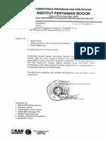 Penyampaian Pengumuman Registrasi Ulang