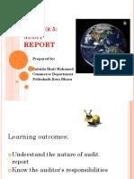 Bab 5 Audit Report