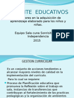 AMBIENTE  EDUCATIVOS
