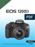 Canon Eos 1200d Instruction Manual 119284
