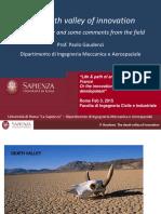 Gaudenzi Death Valley of Innovation