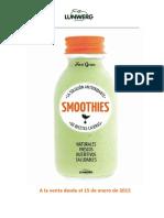Nota de prensa smoothies