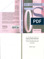 Post-structuralism and Postmodernism