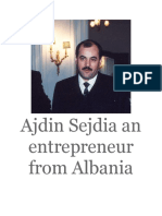 Ajdin Sejdia an Entrepreneur From Albania