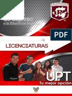 Guía Licenciaturas UPT