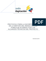 Protocolo GR en POMCAS