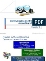 Slideshow for ACCT2020 Introduction to Accounting for Non-Business Majors Chapter 5