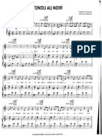 Fondu au noir - Coeur de Pirate sheet music