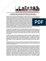 RED - Declaración Pública - 05ene2016