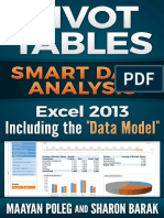 Excel 2013 Pivot Tables - Maayan Poleg