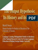 the output hypothesis.pdf