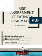 Risk Assessment-Creating a Risk Matrix