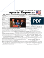 January 6 - 12, 2016  Sports Reporter