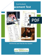 ESL Placement Test