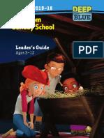 Leaders Guide Winter 2016 One Room School House Deep Blue