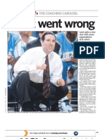 Newsday, April 4, 2010 - Steve Lavin feature