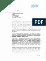 Ferrell Streetcar Letter