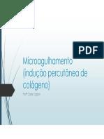 Aula Microagulhamento
