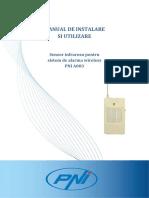 Manual de Utilizare Senzor de Miscare Pni a003 1028485