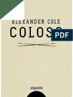 Coloso - Alexander Cole