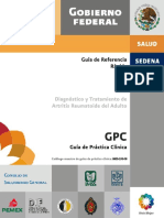 GPC - Artritis Reumatoide - RR