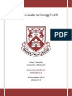 A User's Guide to EnergyPLAN v4 1