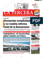 Diario La Tercera 05.01.2016