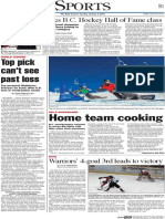 BC Provincial SBX Team - The Daily Courier, Jan 5, 2016