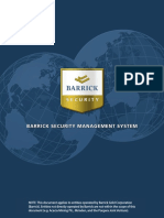 Barrick Security Management System