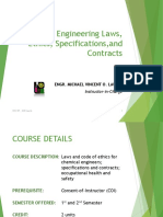 ChE 185 Course Overview and Policies 1S 2015-2016