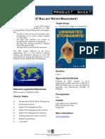 CBT#27 Ballast Water Management