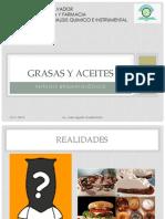 Grasas y Aceites - Bromatologia