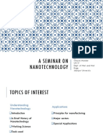 A Seminar on Nanotechnology
