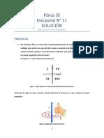 Física III Discusión N_11 - Solución - Biot Savart Ley de Ampere