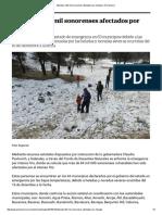 03-01-16 Atienden a 84 mil sonorenses afectados por heladas - El Universal