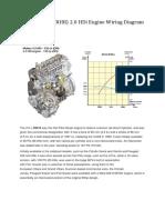 DW10BTED4 (RHR) 2.0 HDi Engine Wiring Diagram