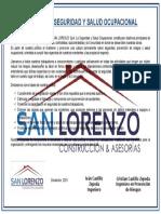 Politica de Seguridad y Salud Ocupacional San Lorenzo