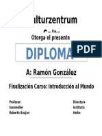 Certificado Ramoncito
