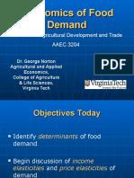 3204 3 Food Demand