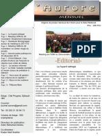 Journal L'Aurore, édition N°4