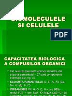 Biomoleculele Si Celulele