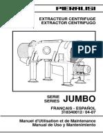 Manual de Uso y Mantenimiento JUMBO 3