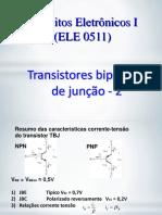Aula 11 - Transistores TBJ - 2