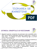 Poziţionarea de Marketing cursuri